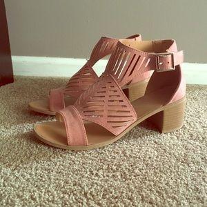 Blush Heel Sandals